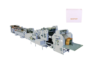 KING-220/350/450/500 - Automatic Sheet Feed Type Square-Bottom Bag Making Machine