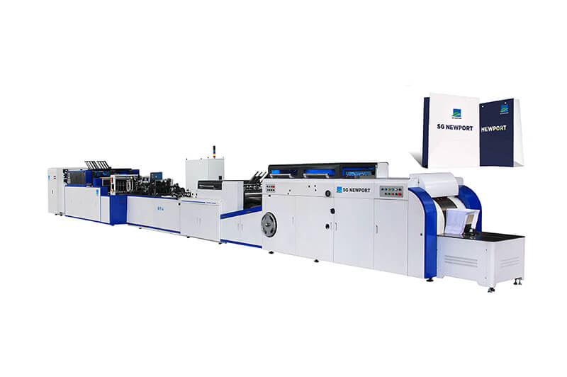 PIONEER-240/350/450 - Automatic Sheet Feed Type Square-Bottom Bag Making Machine